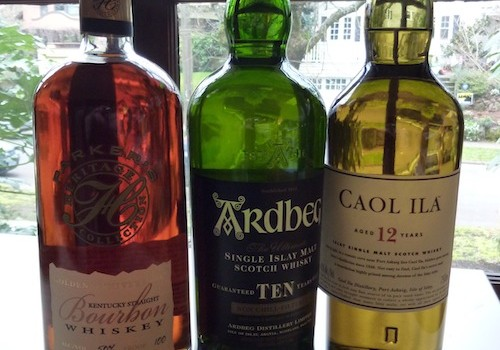 Parker's Golden Anniversary, Arbeg 10 and Caol Ila 12