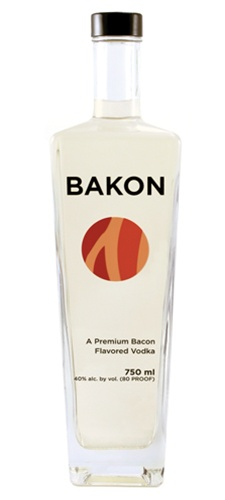 Bakon Vodka - Bacon Flavored Vodka