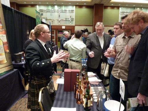 The Scene at WhiskyFest