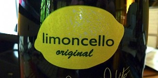 Scratch and Sniff Limoncello Bottle