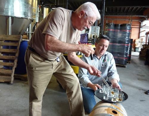 Bill Owens Serves Barrel Proof Whiskey