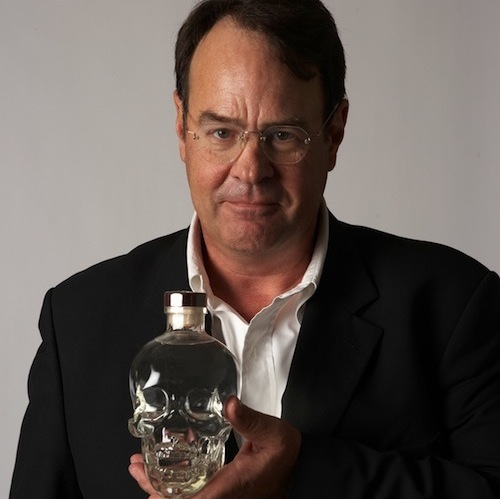 Dan Aykroyd Talks About Crystal Head Vodka