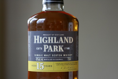Highland Park 15 Year Single Malt Scotch Whisky