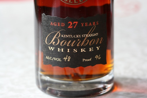 Parker's Golden Heritage 27 Year Bourbon Whiskey