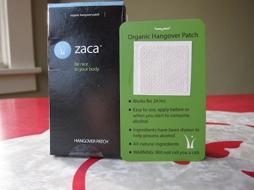 Zaca Herbal Hangover Patch