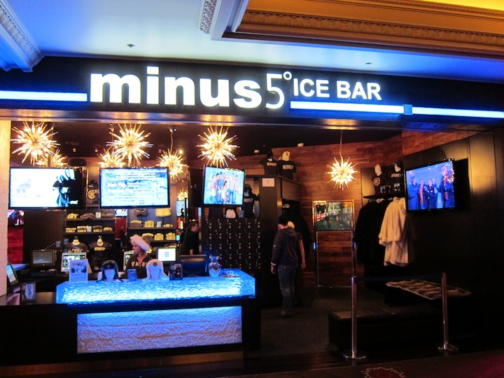 Minus 5º Ice Bar at The Monte Carlo Casino