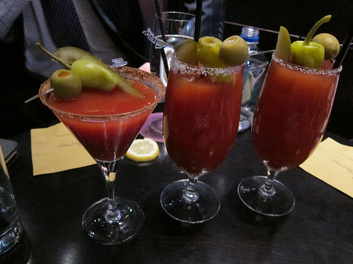 3 Bloody Marry's At Bar Moderno at The Aria Hotel