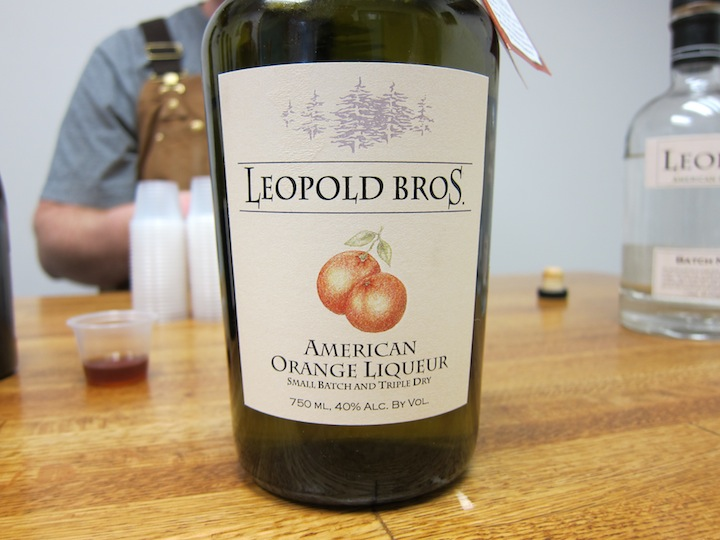 "Leopold Bros American Orange ""Tripple Dry"" Liqueur"