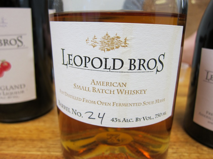 Leopold Bros. Small Batch Whiskey