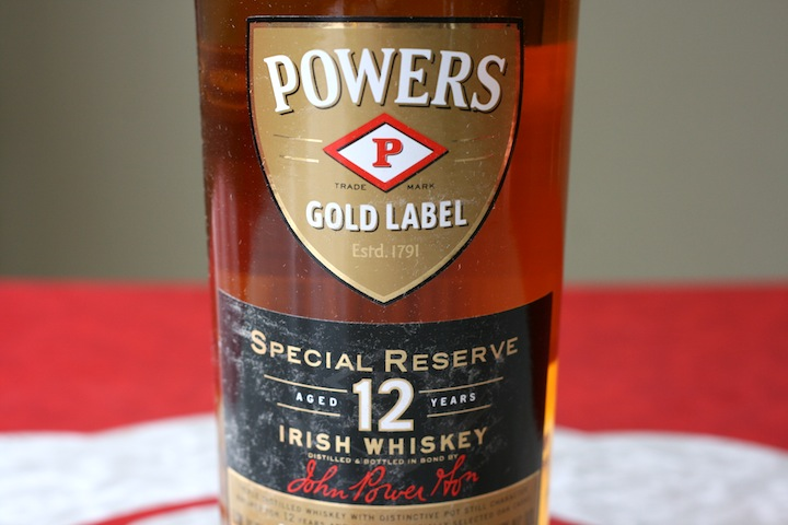 Powers Gold Label Special Reserver 12 Year Irish Whiskey