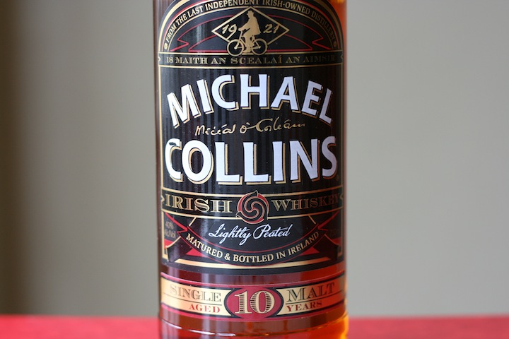 Michael Collins Single Mailt 10 Year Irish Whiskey