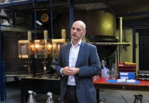 Sean Harrison Master Distiller of Plymouth Gin
