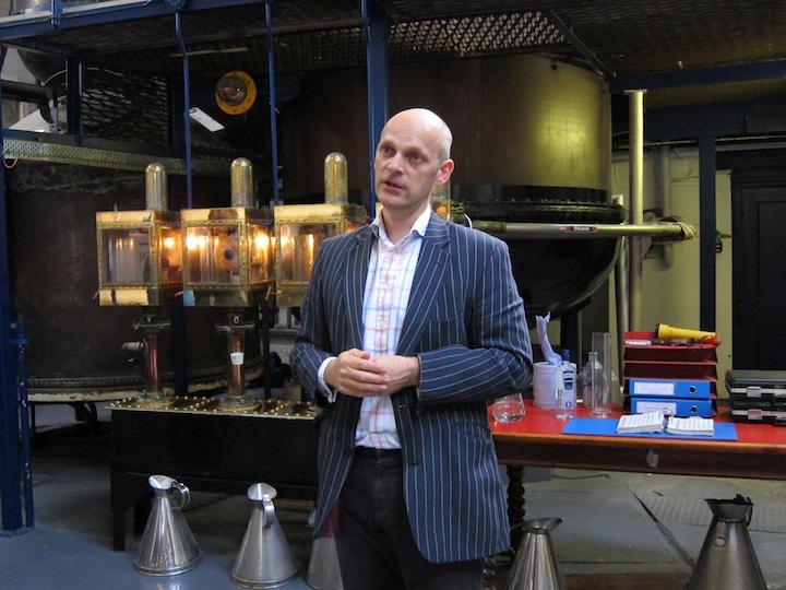 Sean Harrison Master Distiller of Plymouth Gin