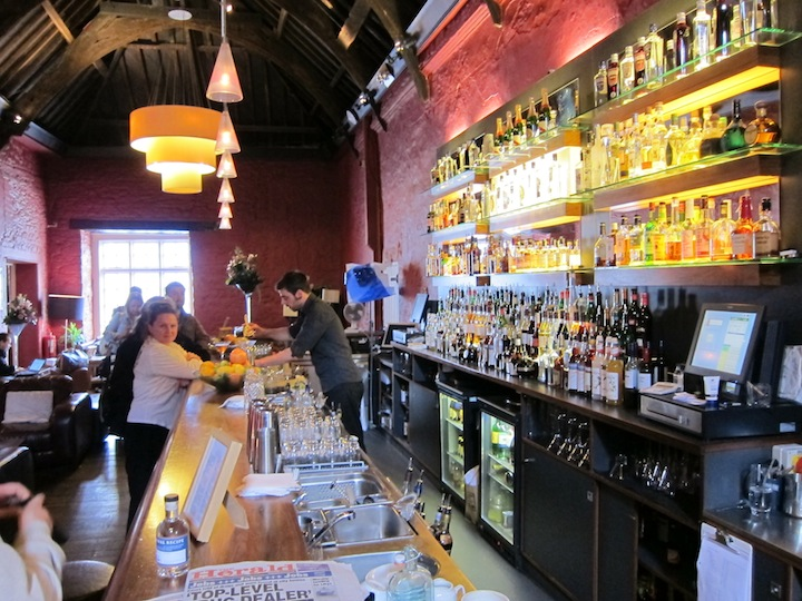 The Bar at the Plymouth Distillery