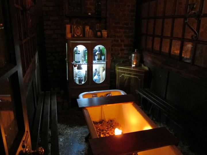 The Private Gin Room at Worship St. Whistle Shop