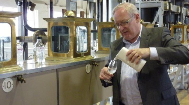 ... Gin Distillery in London with Master Distiller Desmond Payne