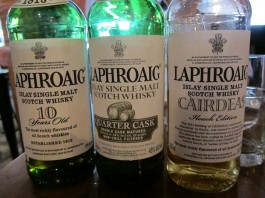 Whiskys of Laphroaig