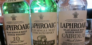 Whiskys of Laphroaig