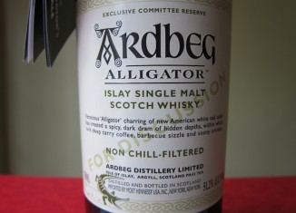 Ardbeg Alligator Islay SIngle Malt Scotch Whiskey