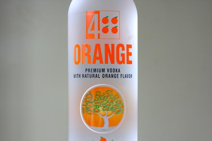 4 Orange Premium Vodka With Natural Orange Flavor