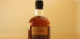 Temperance Trader Straight Bourbon Whiskey