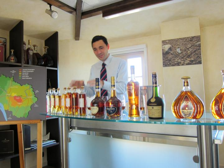 Benoit De Sutter Tasting Through The Line of Courvoisier