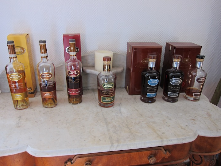 Pierre Ferrand Line of Cognac