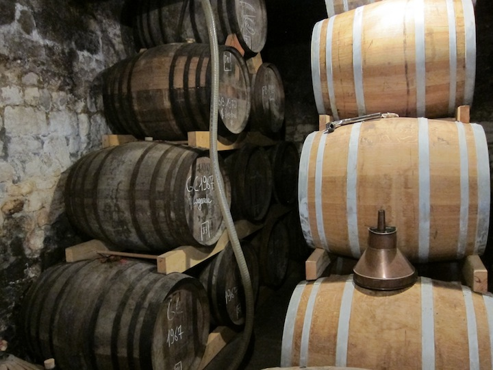 Cognac Jean Grosperrin Cellar Packed To Maximum Capacity
