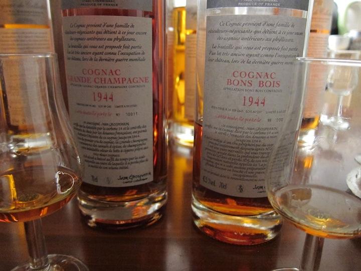 1944 Vintage Cognac from Cognac Jean Grosperrin