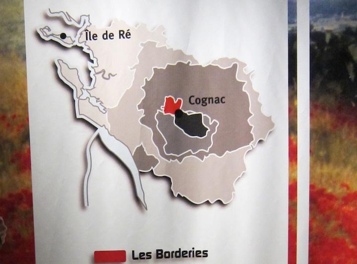 Boarderies Area of Cognac