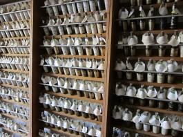 Samples from Hein Cognac Barrels