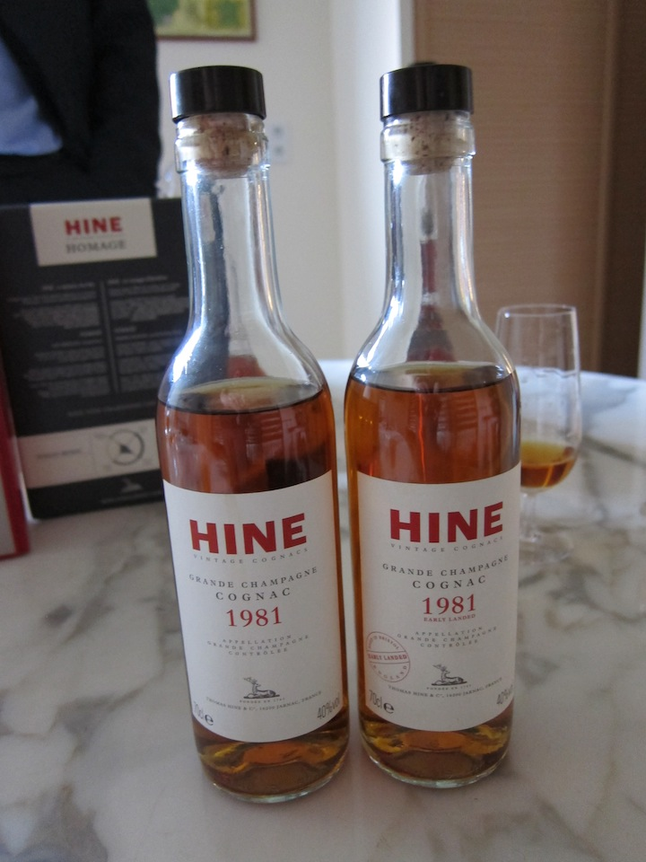 One Cognac Aged in Two Countries
