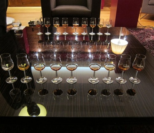 Tasting Through Cognac at Hennessy