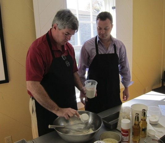 Mark Gillespie from Whiskey Cast Making Bread