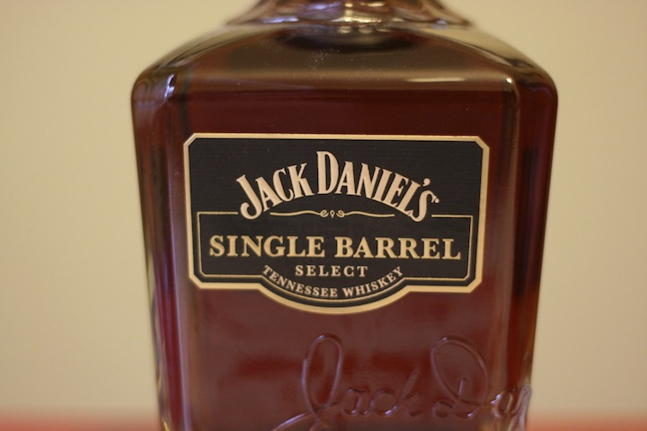 Jack Daniels Single Barrel Select Whiskey