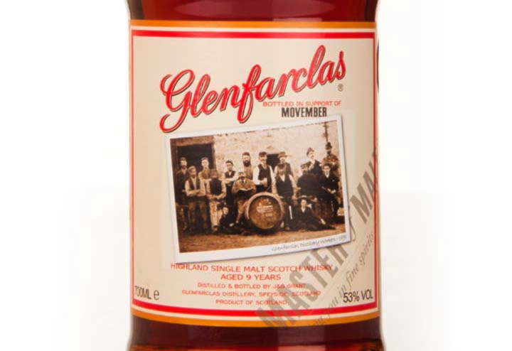 Glenfarclas Movember Single Malt Whisky