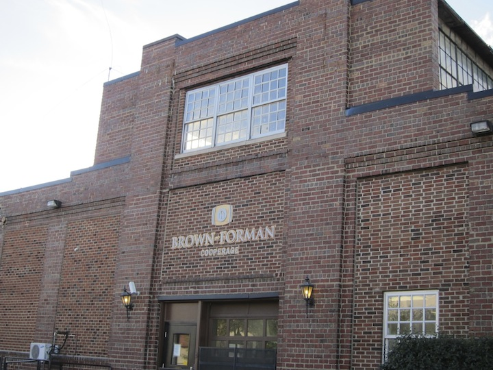Brown-Forman Cooperage in Kentucky