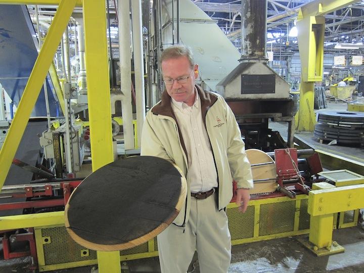 Chris Morris Shows Of Charred Barrel Heads