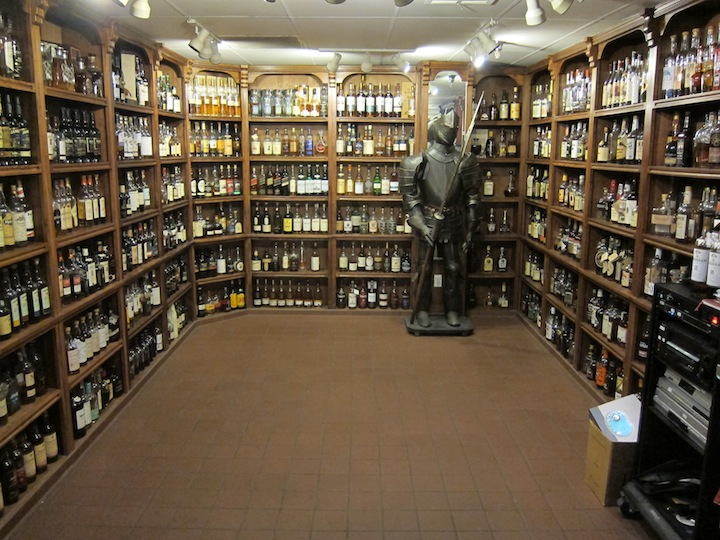 Over 800 Whiskys at The Attic in Las Vegas