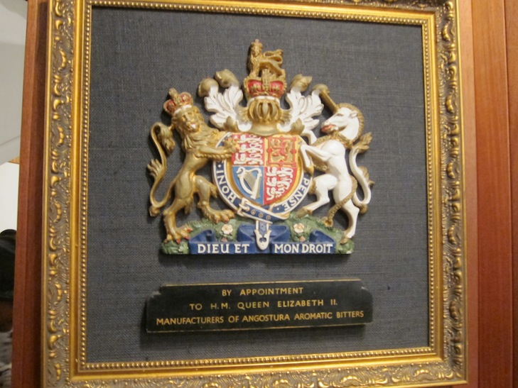 Angostura Gets Royal Order of The Queen