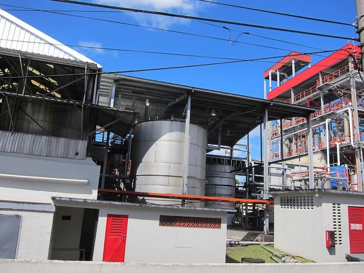 Angostura's Massive Fermentation Plant