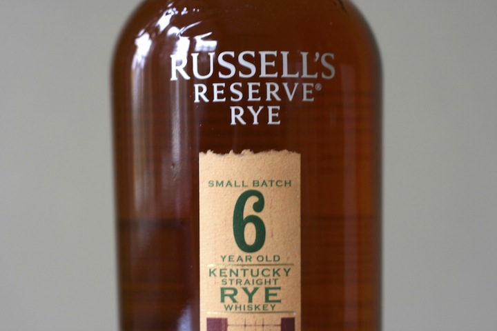 Russel's Reserve 6 Year Rye Whiskey