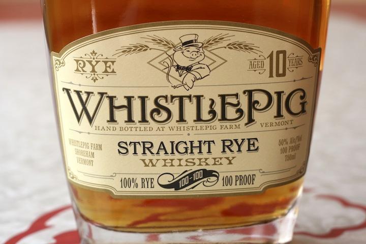 Whistle Pig (Canadian) Rye Whiskey