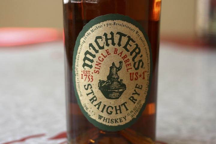Michter's Straight Rye Whiskey