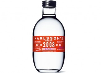 Karlsson's Batch 2008 Vodka