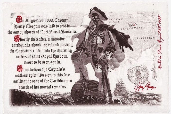 Captain Morgan Black Inner Label