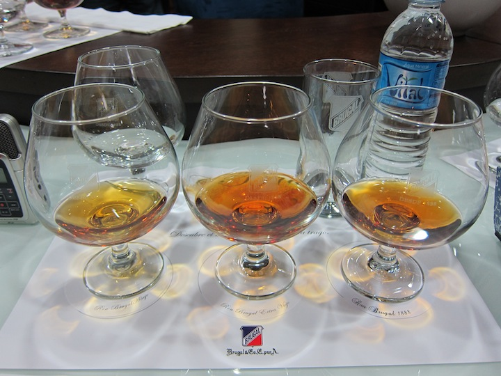 Anejo Rum, Extra Viejo Rum and 1888 Rum from Brugal