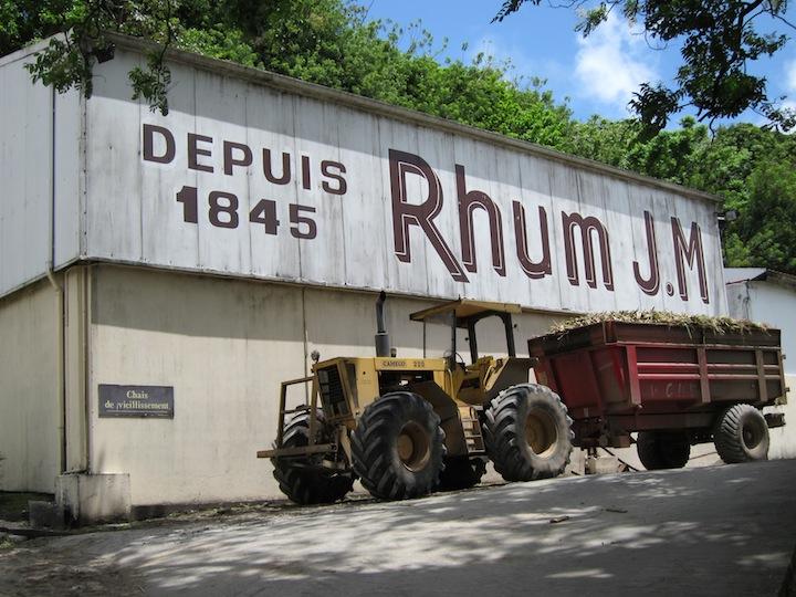 Rhum JM an Iconic Rhum Agricole Distillery