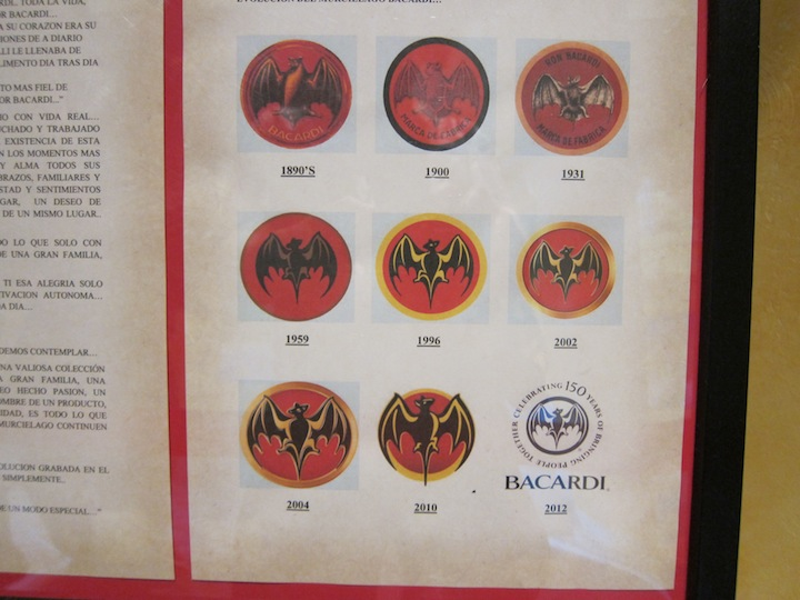 The Evolution of The Bacardi Bat Brand