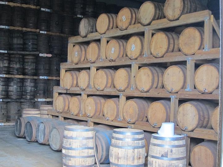 Bacardi Rum Aging Warehouses